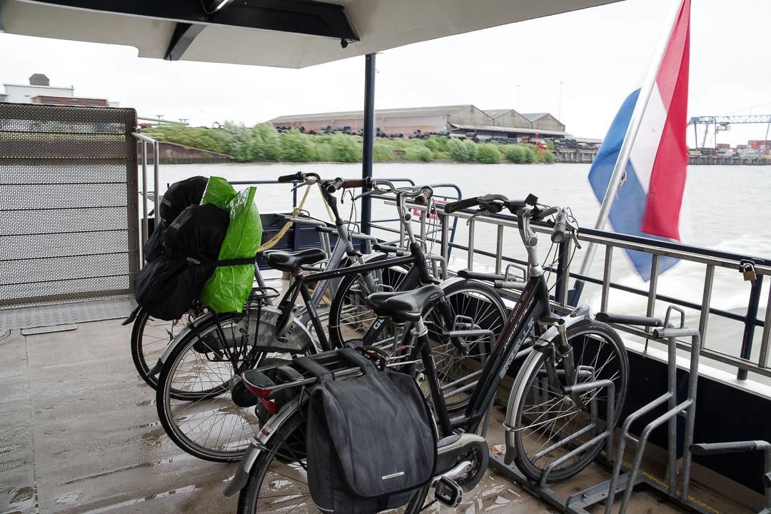 Waterbus entre Dordrecht et Rotterdam
