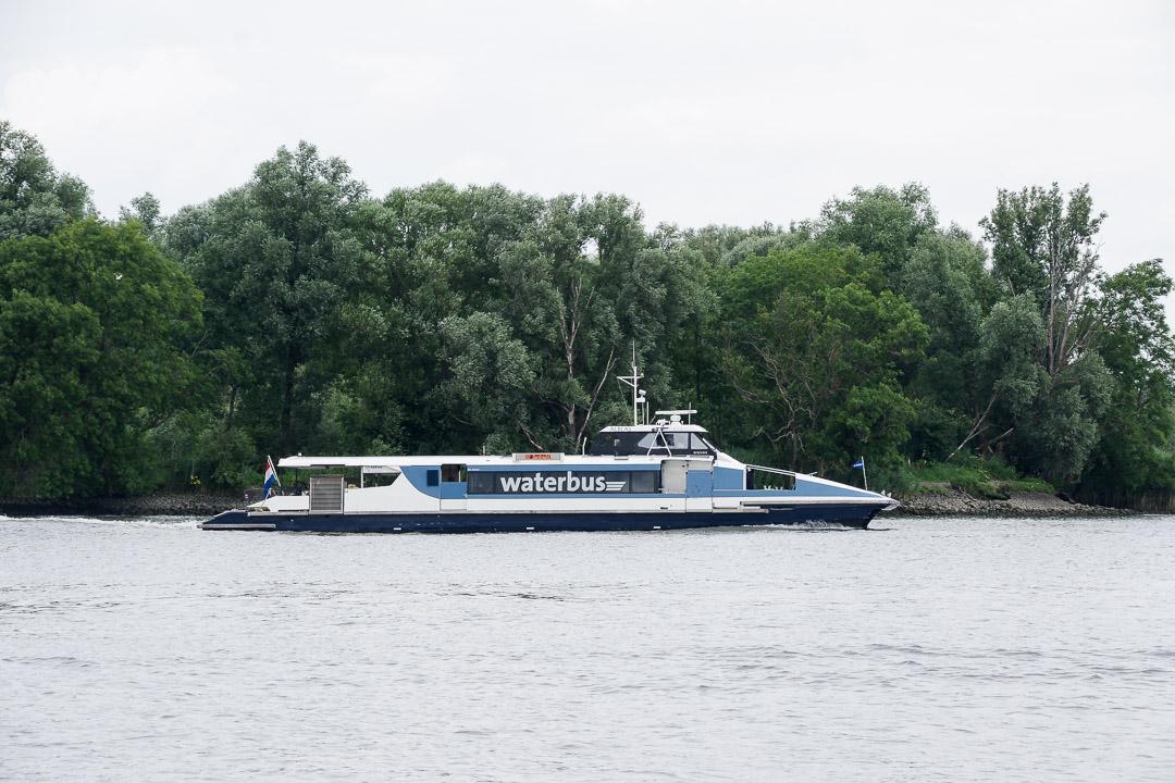 le waterbus entre Rotterdam et Dordrecht