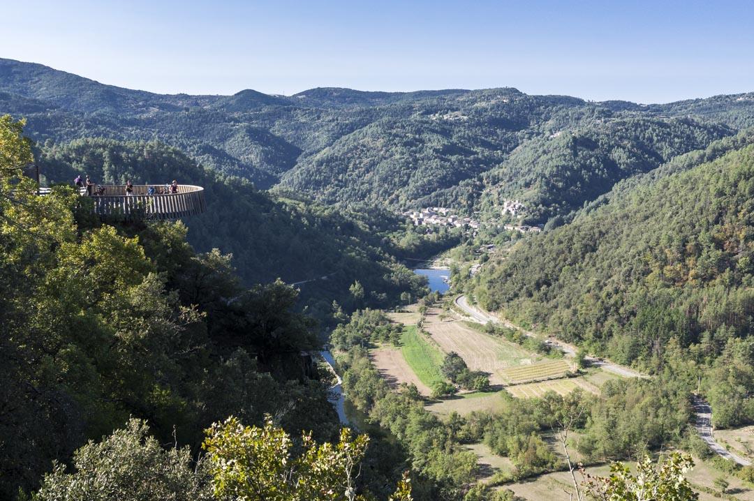 Belvedère de la Vallée del'Eyrieux à Saint-Michel-de-Chabrillanoux