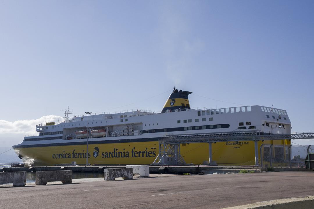 Mega Express Corsica Ferries