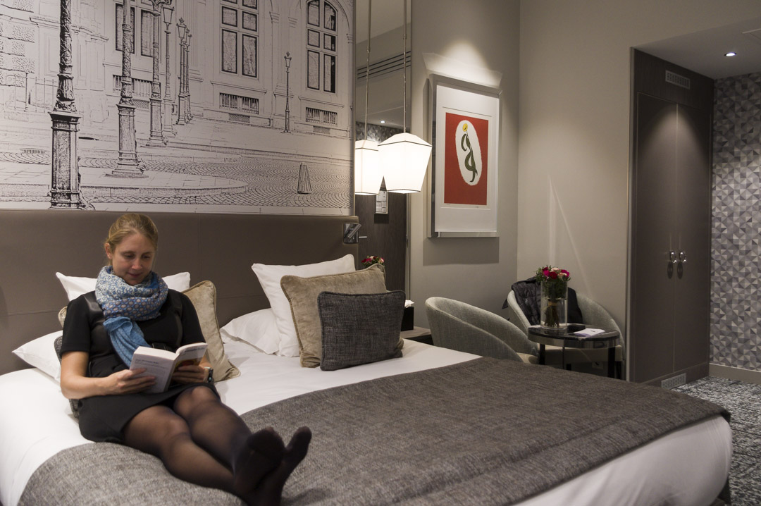 chambre Deluxe - hôtel La Lanterne - Paris