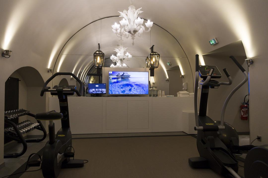 Salle Fitness de l'hôtel La Lanterne