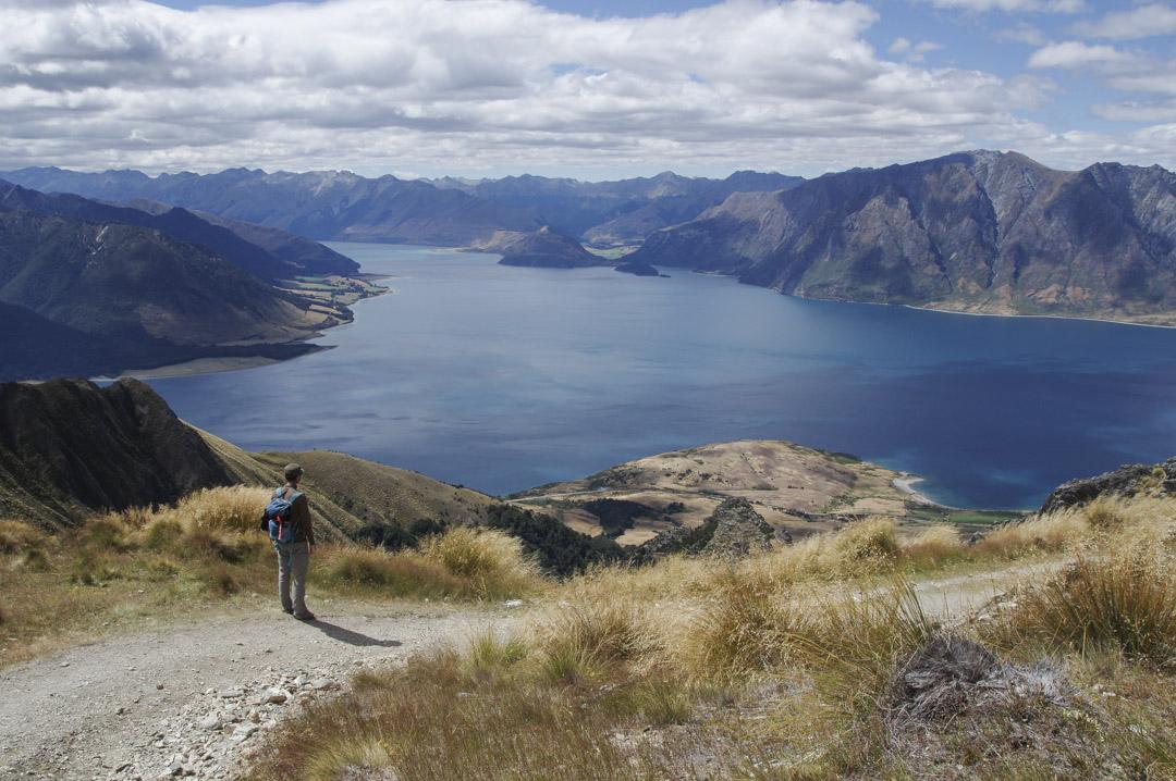randonnée Isthmus Peak près de Wanaka
