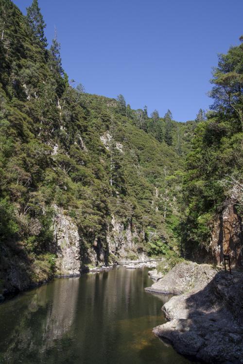 Karangahake Gorge - une ancienne mine d'or dans le nord de la Nouvelle-Zélande