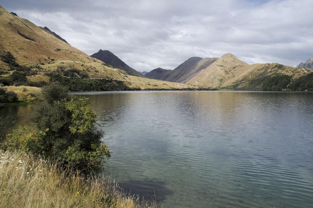 Lac Ben Lomond en Nouvelle-Zélande