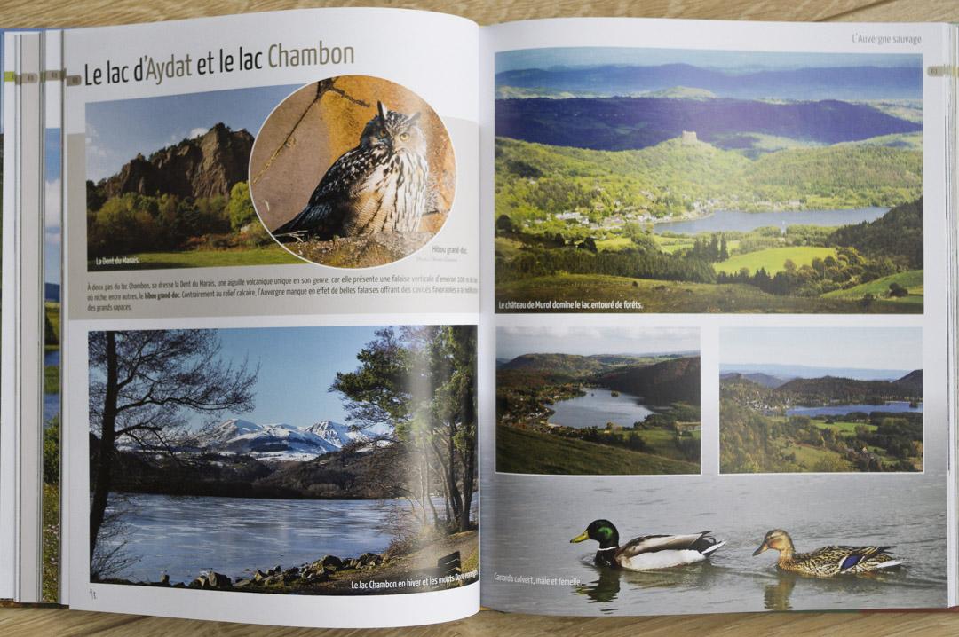 beau livre Auvergne Sauvage