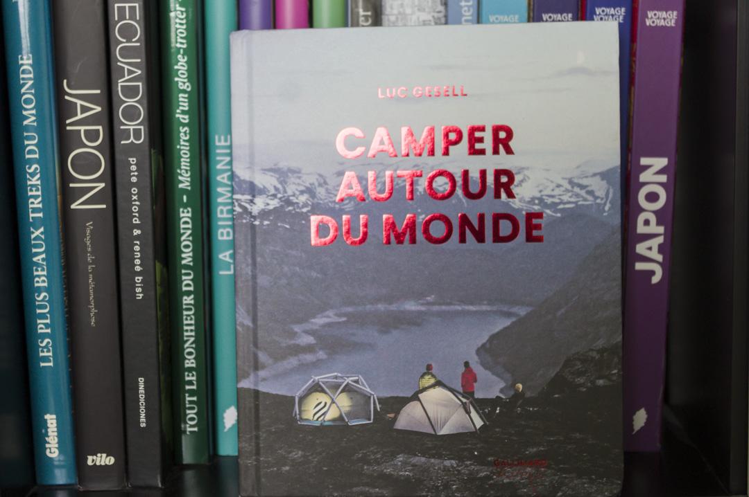 Livre camper autour du monde aux éditions Gallimard Voyage