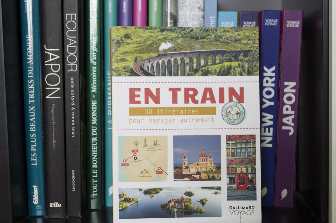 livre En Train 30 itinéraire pour voyager autrement