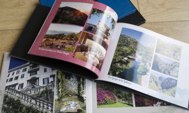 J'ai testé les livres photos Photoweb.fr
