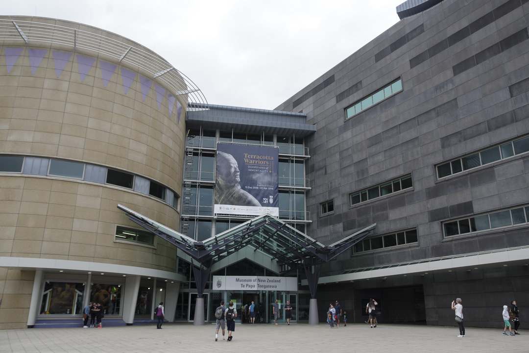 Musée Te Papa à Wellington - Nouvelle-Zélande