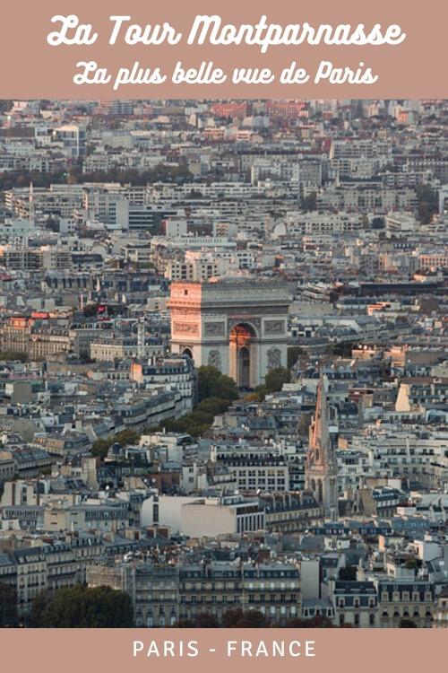 visiter l'Observatoire panoramique de la Tour Montparnasse pour découvrir la plus belle vue de Paris