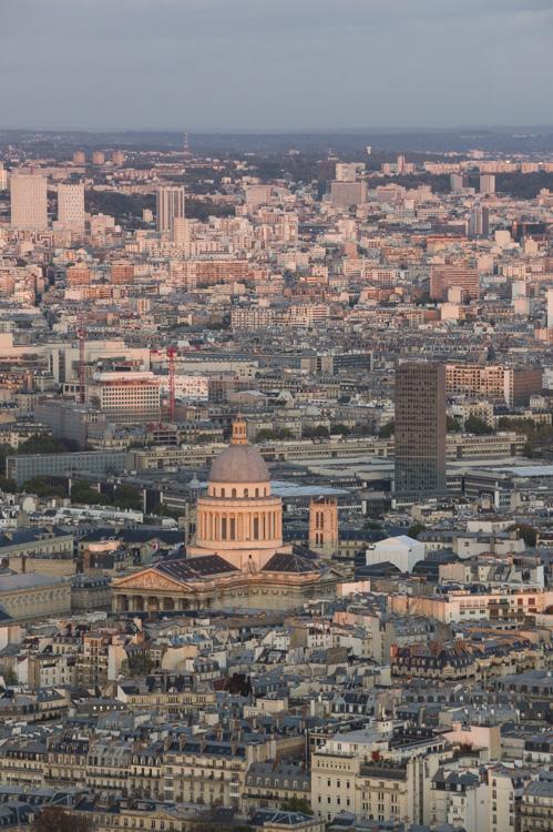 Pantheon vue de la Tour Montparnasse