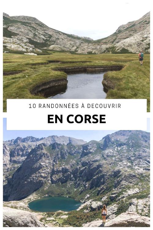 les 10 plus belles randonnées à la journée à découvrir en Corse