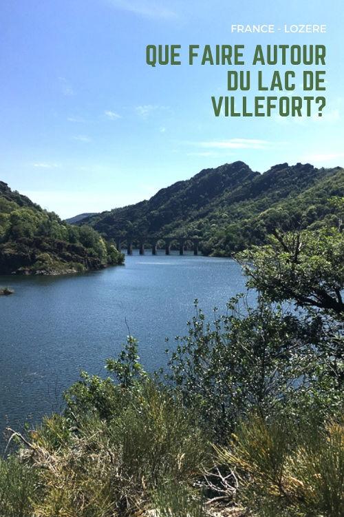 Que voir autour du Lac de Villefort dans les Cévennes - Lozère