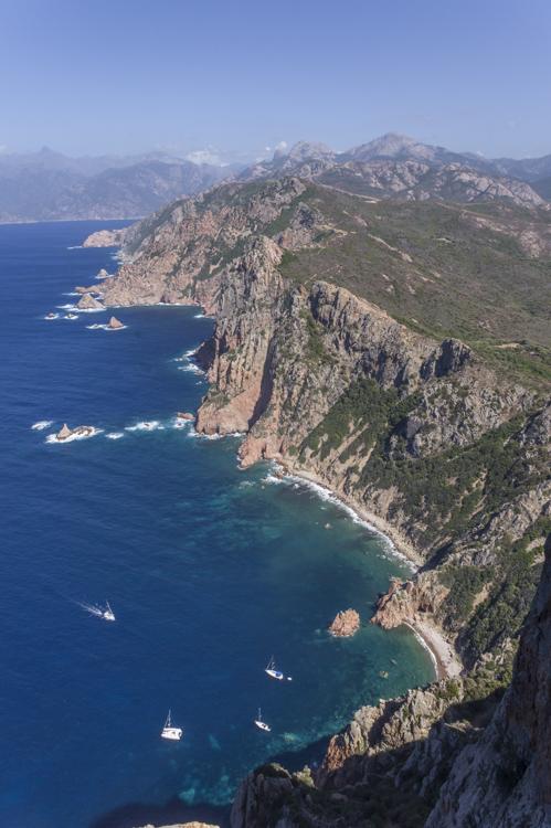 Randonnée du Capo Rosso au Golfe du Porto - Corse