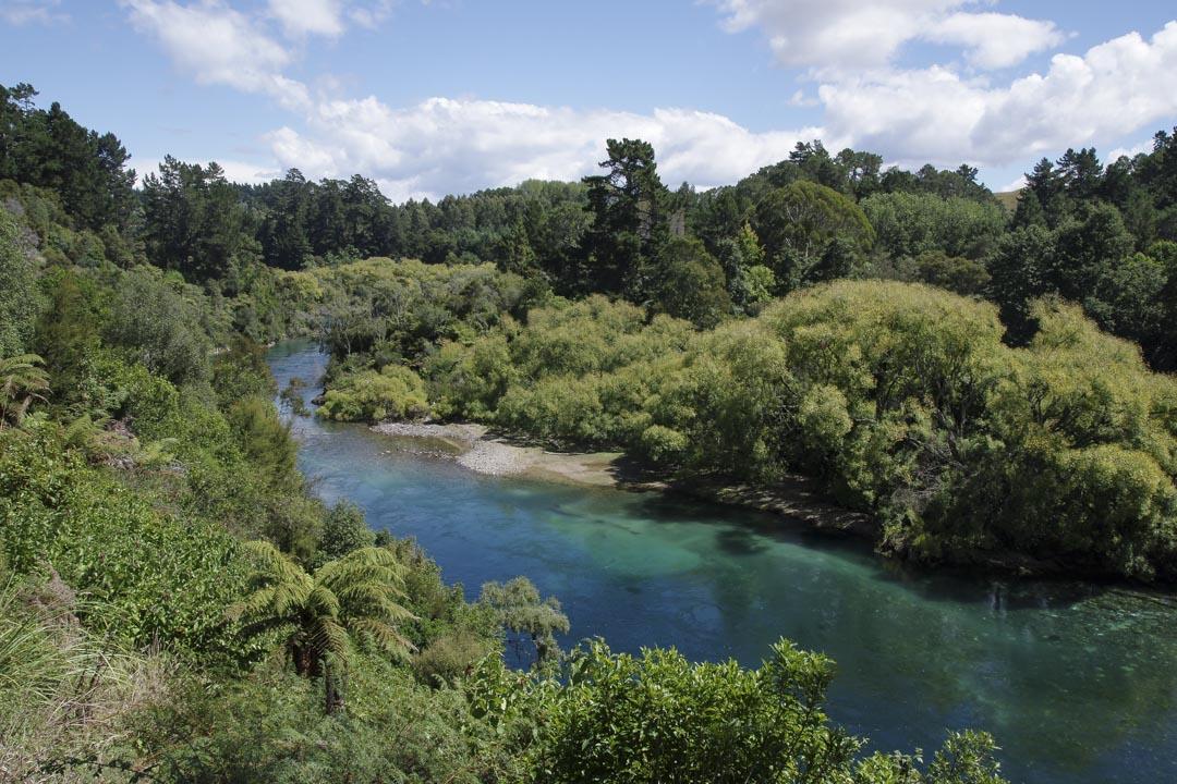 Waikato River près de Taupo