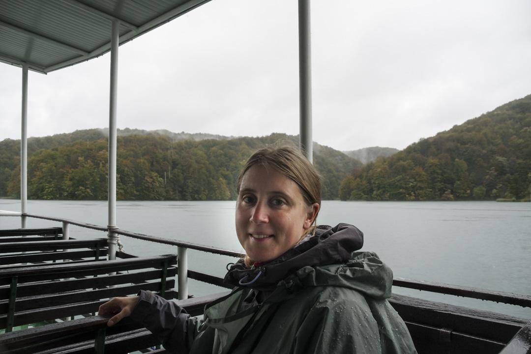 traversée en bateau à Plitvice