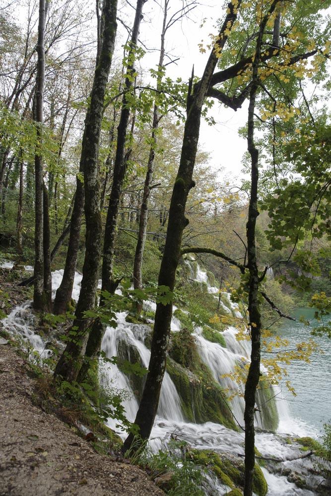 balade dans le parc national de Plitvice