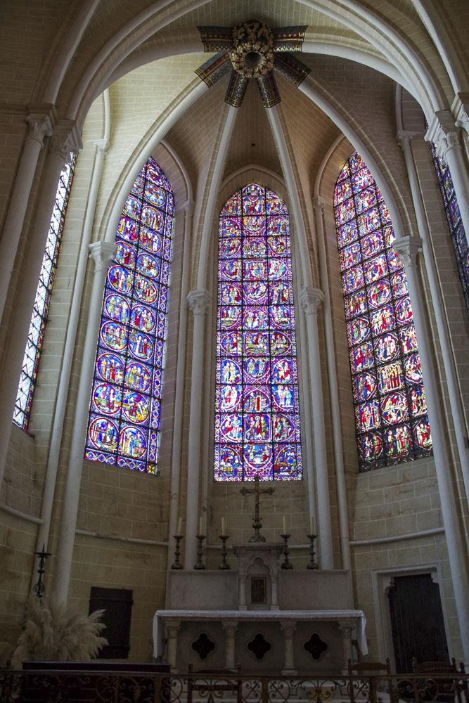 chapelle de la cathédrale de Chartres