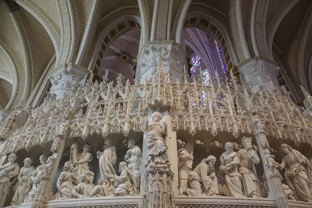 coeur de la cathédrale de Chartres