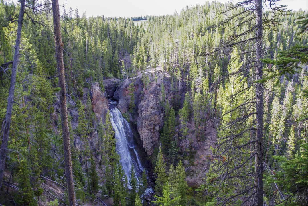Crystal Falls - Yellowstone