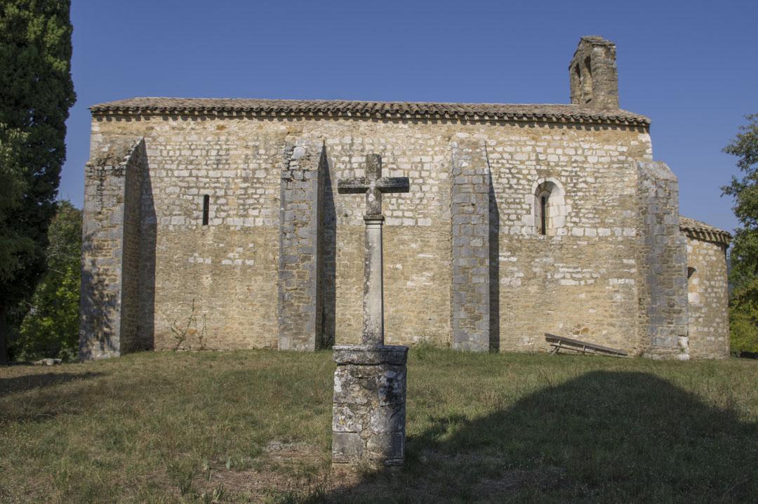 Eglise romane près de Saint Montan