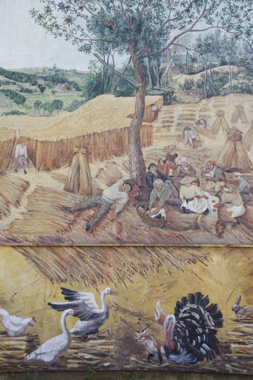 détail d'une fresque du quartier Bel Air