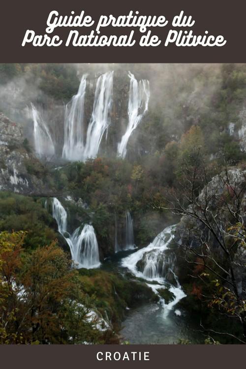Tout savoir sur la visite du parc national de Plitvice en Croatie