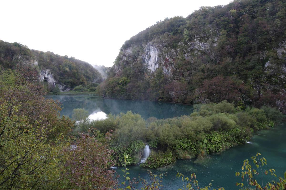 les lacs de Plitivice