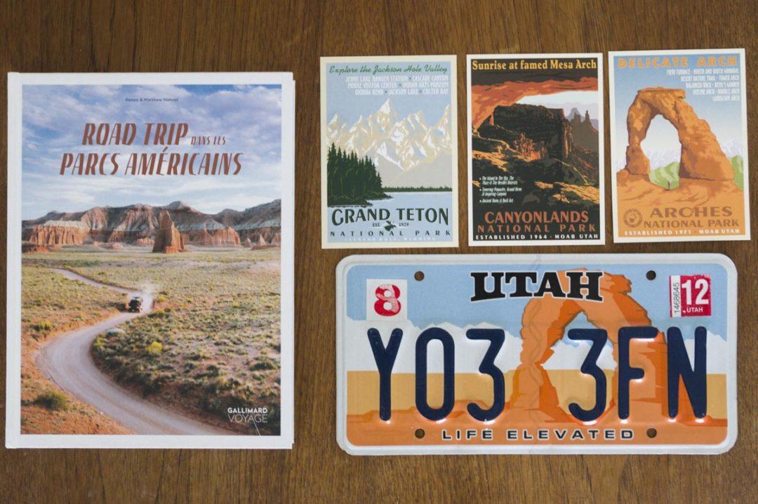 livre road trip dans les parcs américains