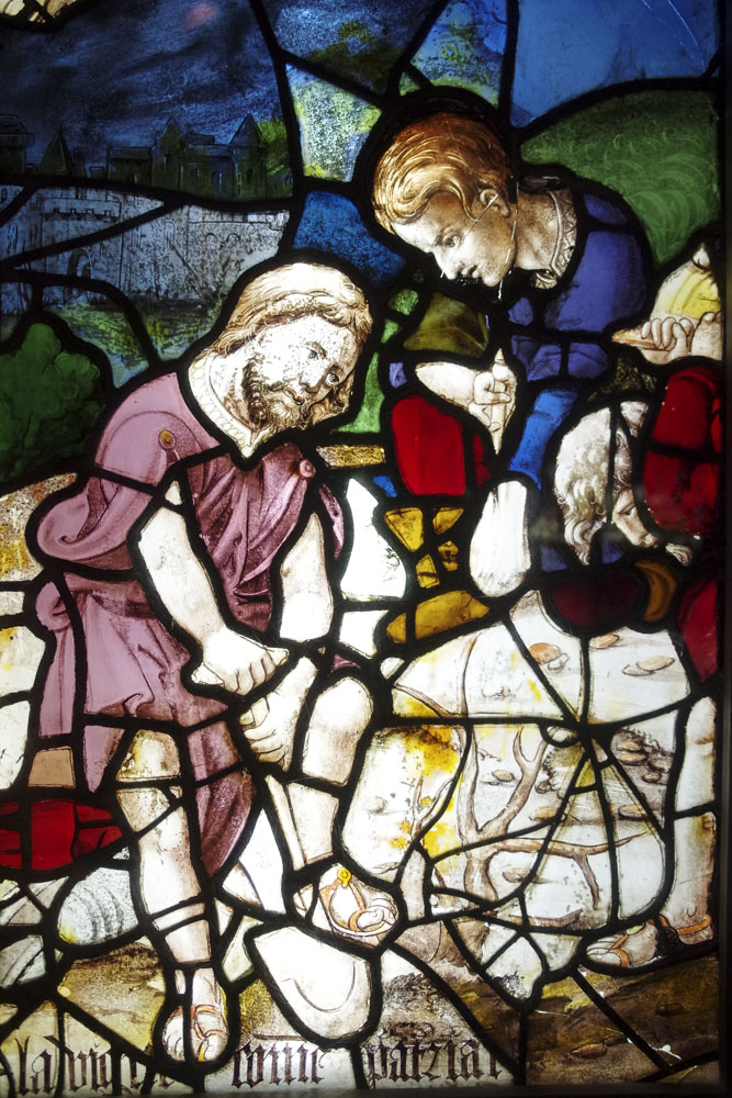 vitrail classique - centre international du vitrail à Chartres