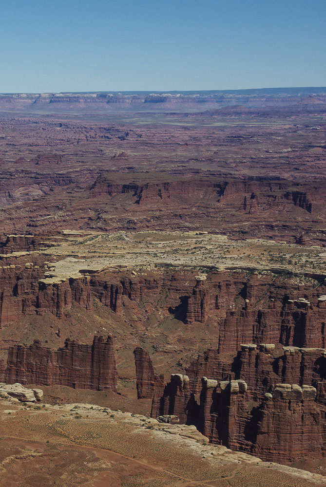 le parc national de Canyonlands dans l'Utah