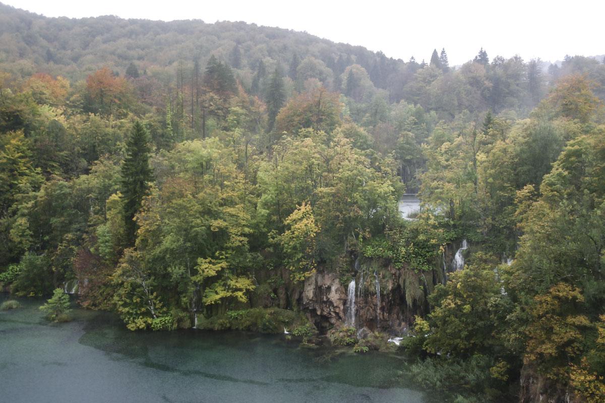 l'Automne au Parc national de Plitvice en Croatie