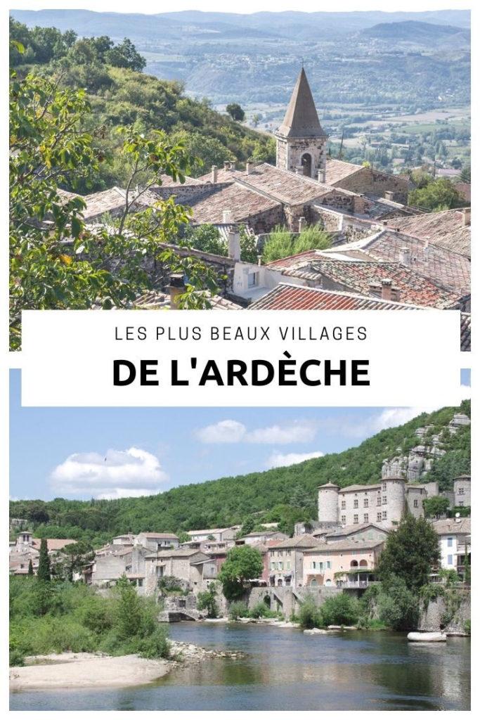 Visiter les plus beaux villages du département de l'Ardèche : Chalencon, Labeaume, Balazuc, Vogüé, Viviers, Saint-Montan... un département riche en villages de caractère