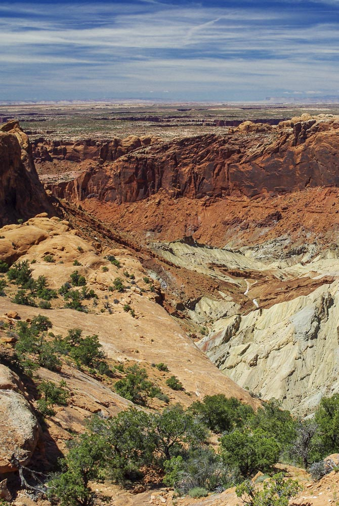 Canyonlands National Park : Upheaval Dome