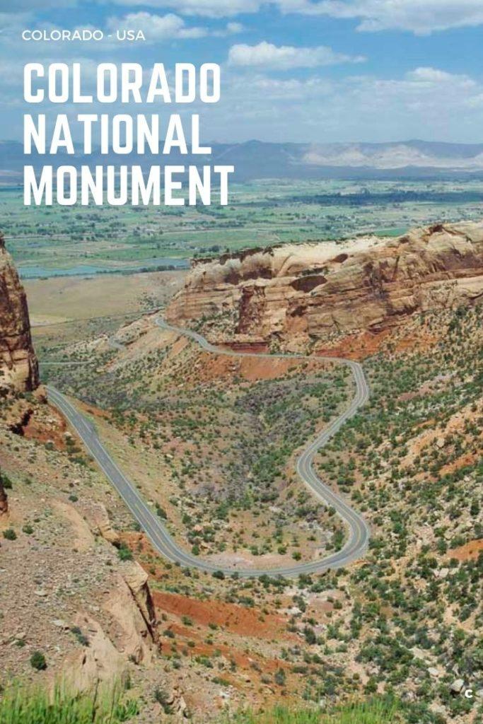 3 idées de courtes randonnées au parc de Colorado National Monument près de Grand Junction aux USA