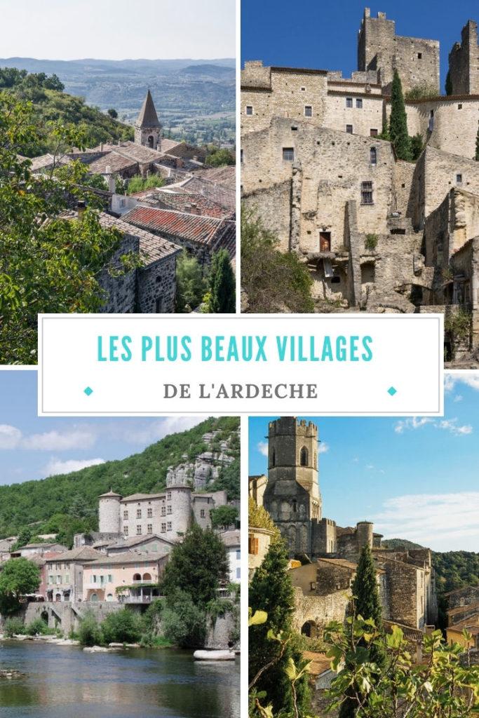 quels sont les plus beaux villages à découvrir en Ardèche ?