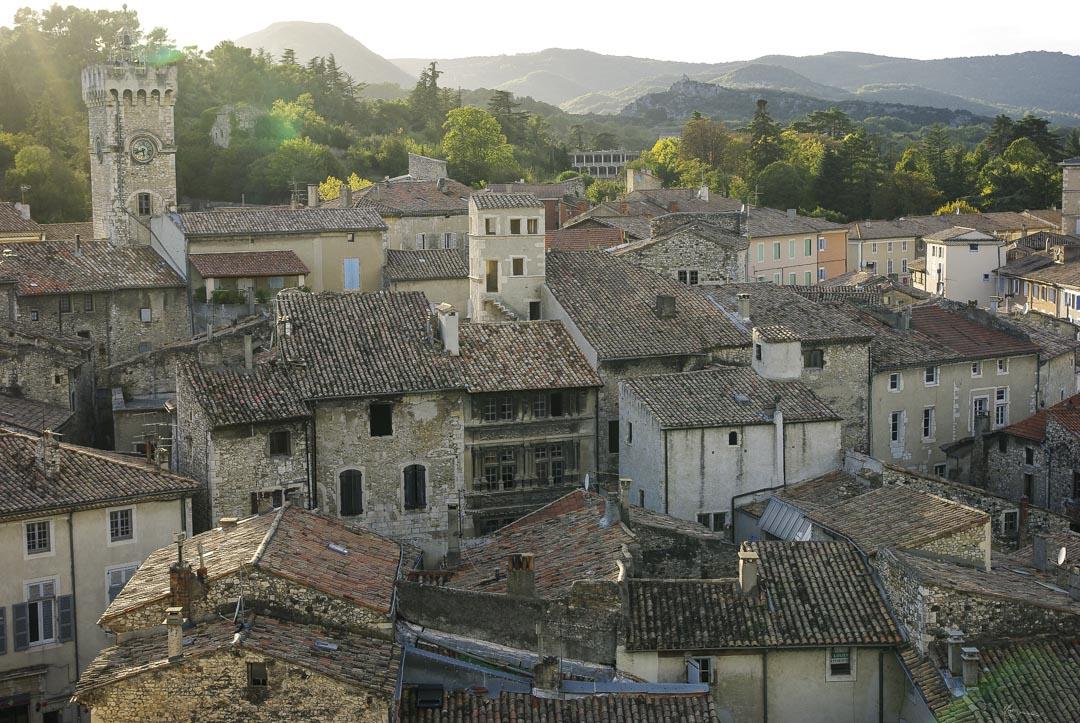 village de Viviers en Ardèche