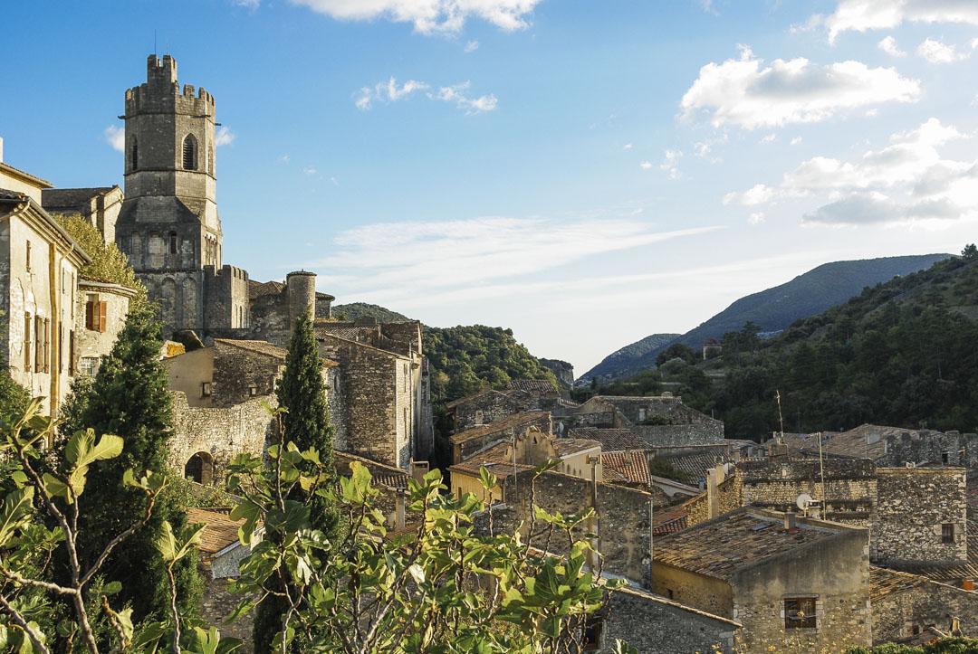 le village de Viviers en Ardèche