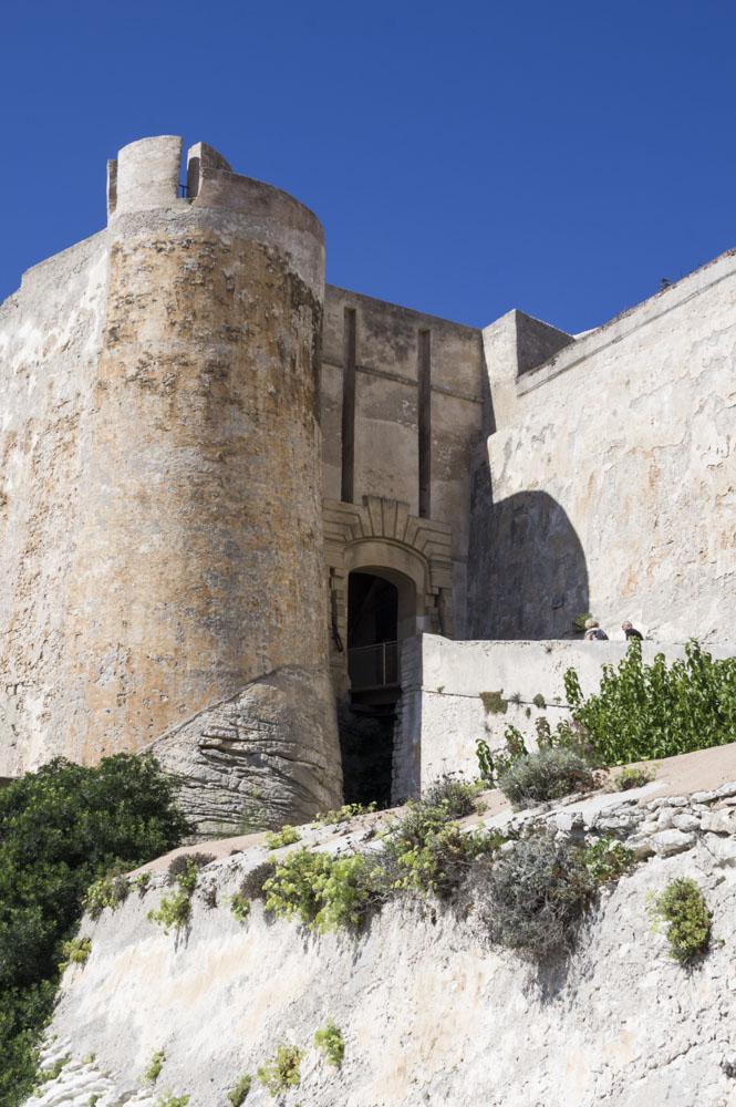 bastion de l'étendard à Bonifacio