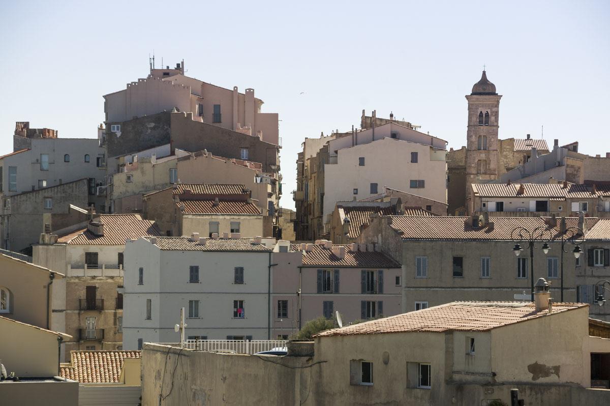 centre ville de Bonifacio