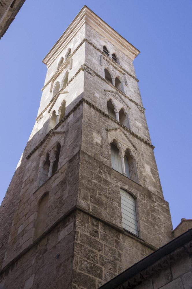clocher de l'église de Bonifacio