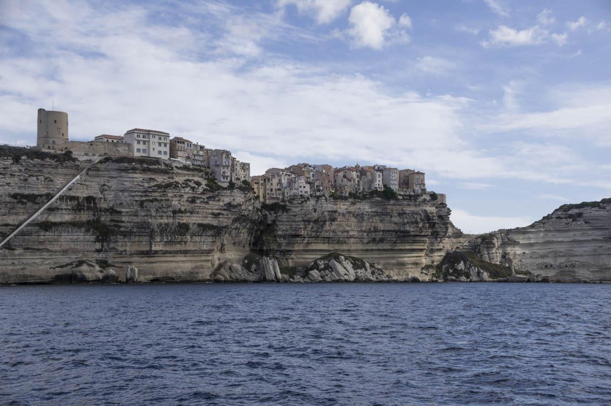 Escalier du roi d'Aragon creusés dans la falaise
