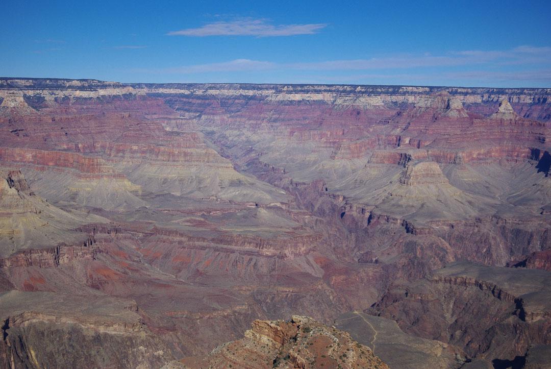 point de vue sur le Grand Canyon