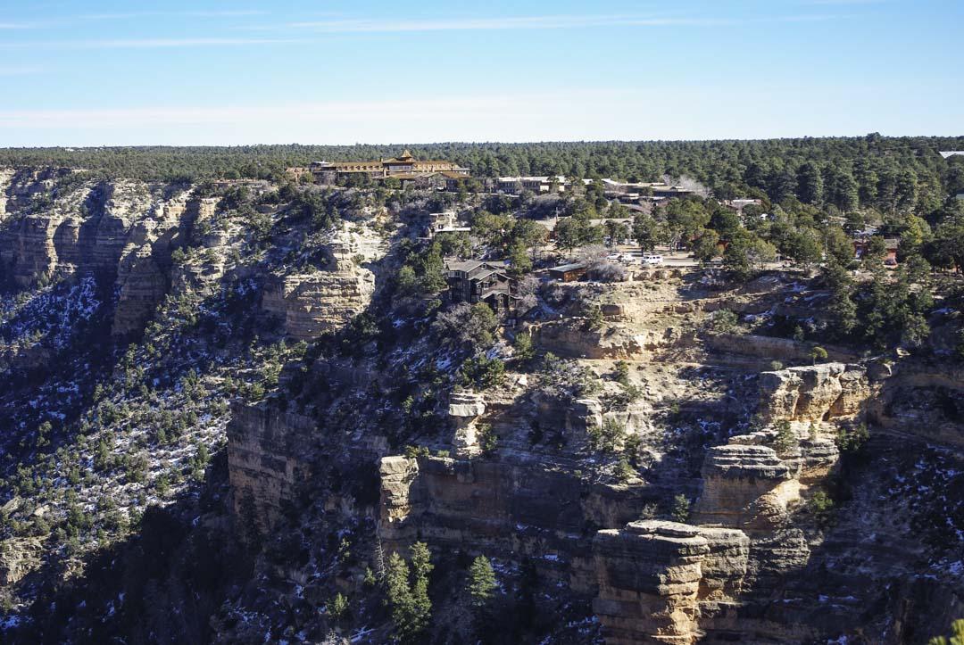 Les lodges de Grand Canyon Village