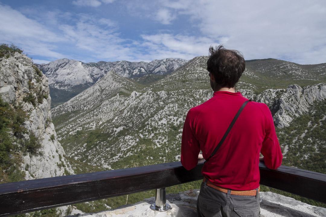 Panorama sur la vallée de Velika Paklenica