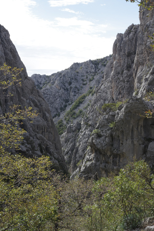 Parc National de Paklenica en Croatie