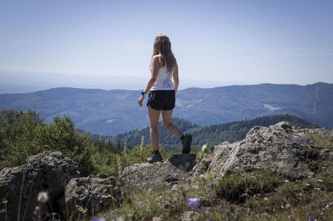 test des chaussures de randonnée Salomon dans le Massif des Vosges