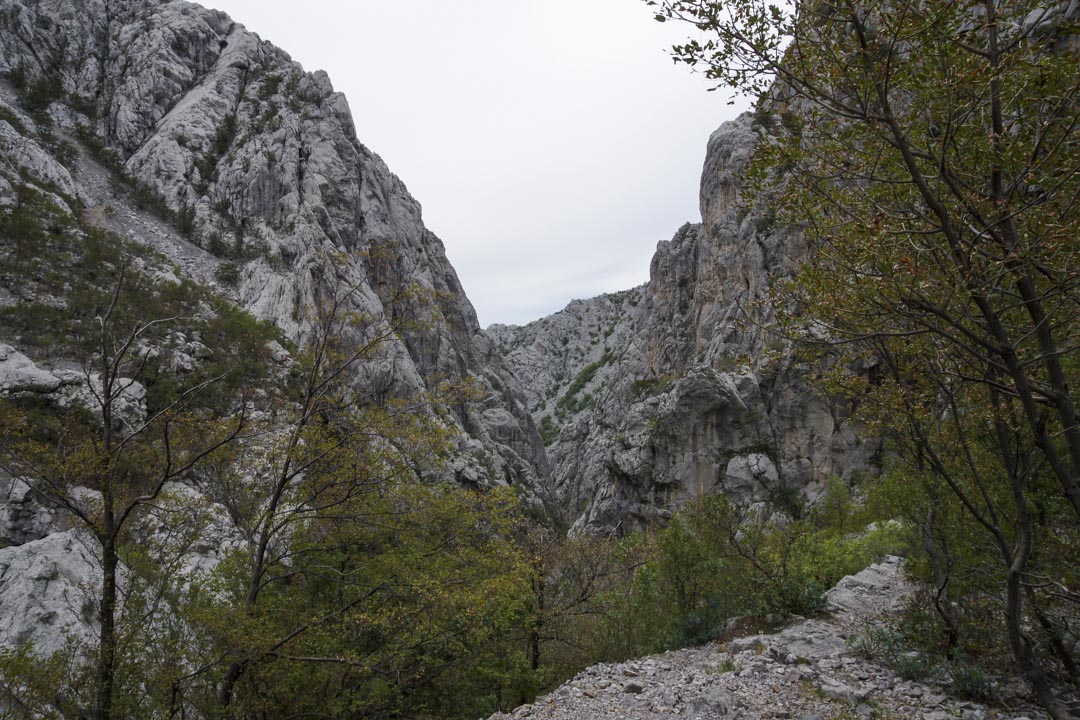 Canyon de Velika Paklenica