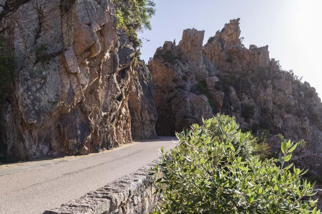 La Route touristique des Calanches de Piana